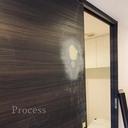 陥没したドアのシート張り補修!!~新宿区賃貸マンション現場~の画像